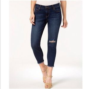 NWT Kut From The Kloth Plus Size Donna Crop Skinny Jeans